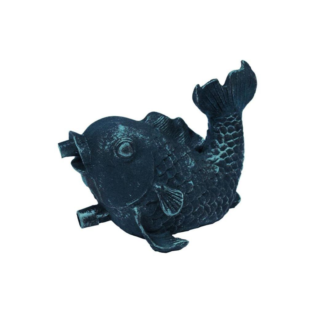 Figurine de bassin en polyrésine gargouille Petit Poisson Ubbink