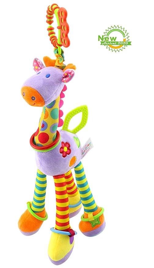 RichChoice Giraffe Baby Educational Toys:1-3-6-8 Month,1-2 ...