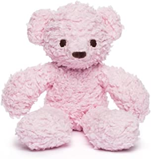 product image for Bears for Humanity Organic Sherpa Bear Plush Animal Toy, Pink, 10""