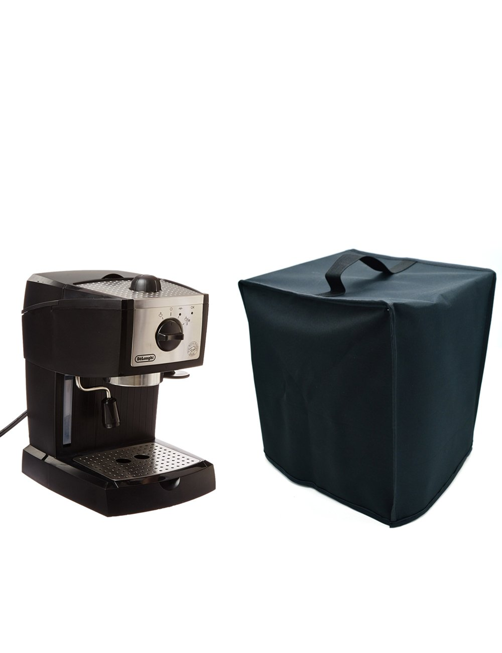 Orchidtent Coffee Maker dust Cover – 11W x 9D x 11H-Waterproof, Universal Fit- Fits EC155 15 BAR Pump Espresso and Cappuccino Maker (For De'Longhi EC155)