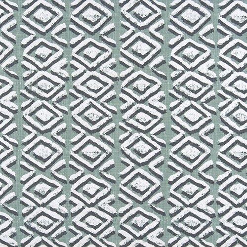 Close to Custom Linens Sham Sapo Waterbury Geometric Spa Green Slub Cotton Tailored Euro by Close to Custom Linens (Image #3)