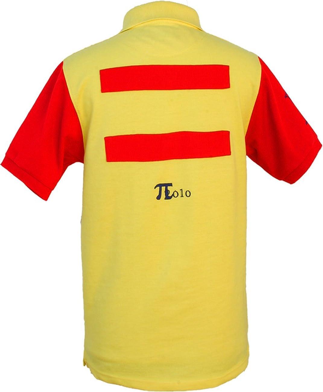 Pi2010 - Polo Hombre español Amarillo y Rojo/Bandera de España en ...