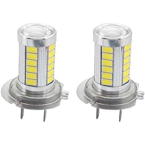 Bombillas de luz diurna H7, Bombillas de luz LED H7, para el coche DRL
