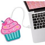 Mustard Scaldatazza Sottobicchiere USB - Rosa Freshly Baked Cupcake