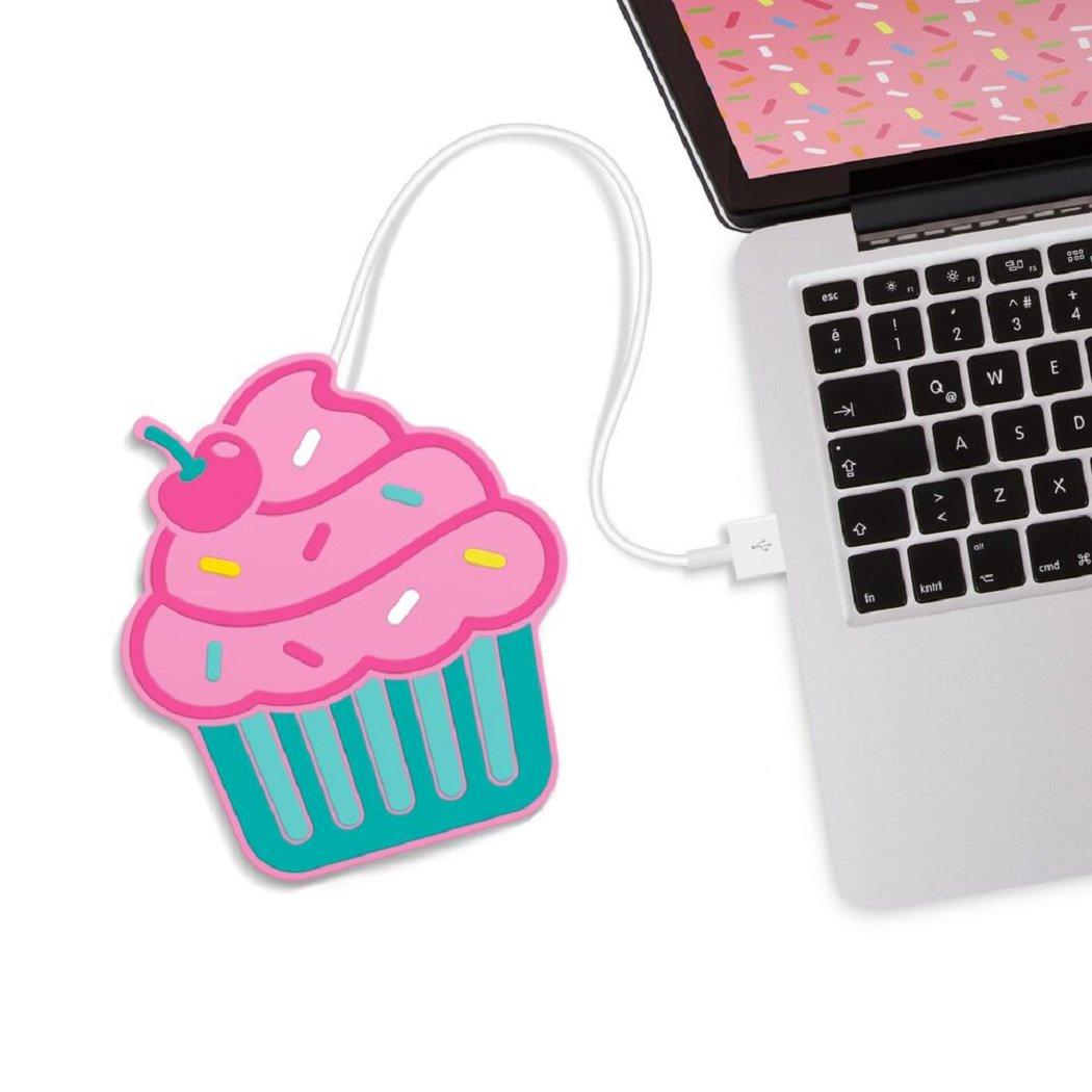 Mustard USB Cup Mug Warmer Coaster- Cupcake Freshly Baked Cup Warmer (M11011A) Mustard PC