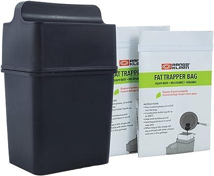 Amazon.com: Sistema de trampas de grasa/recipiente de ...