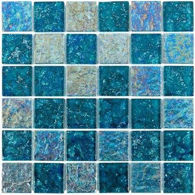 - Glass tile mosaic Aqueous Series. Laguna 2x2
