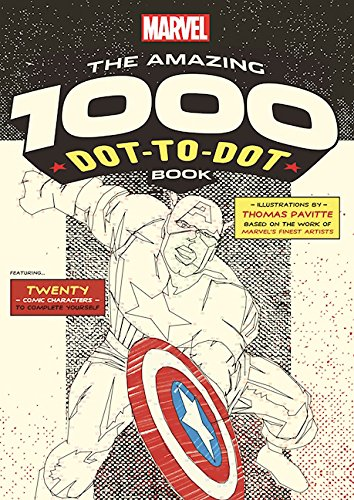 Marvel: The Amazing 1000 <br>Dot-to-Dot Book