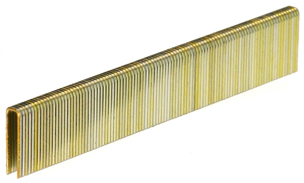 18GA 1/4'' Crown x 7/8'' Length Galv. 5,000-Pack Senco L Style Staples