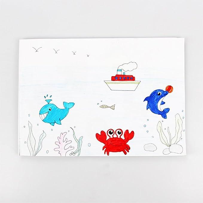 Eleganantimpresionante Juego de Pintura para niños para Pintar Pinceles de Graffiti, Plantillas para Colorear: Amazon.es: Hogar