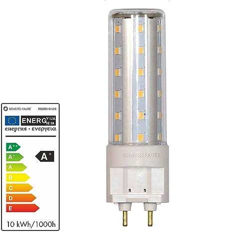 Beneito LED 10 W G12 1000 lúmenes paßt para casquillos de CDM-T BLV –