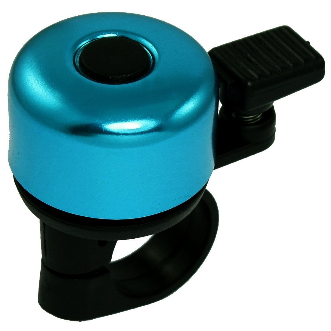 Bicycle Bike Handlebar Bell Ring Blue Aluminum Generic