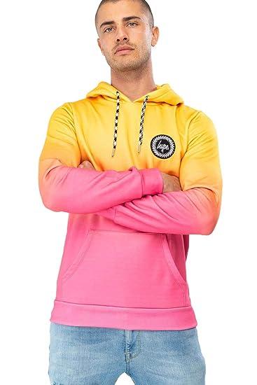 hype Mango Fade Men's Pullover Hoodie: Amazon.co.uk: Clothing