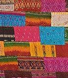 V Vedant Designs Patola Silk Patch Work Kantha