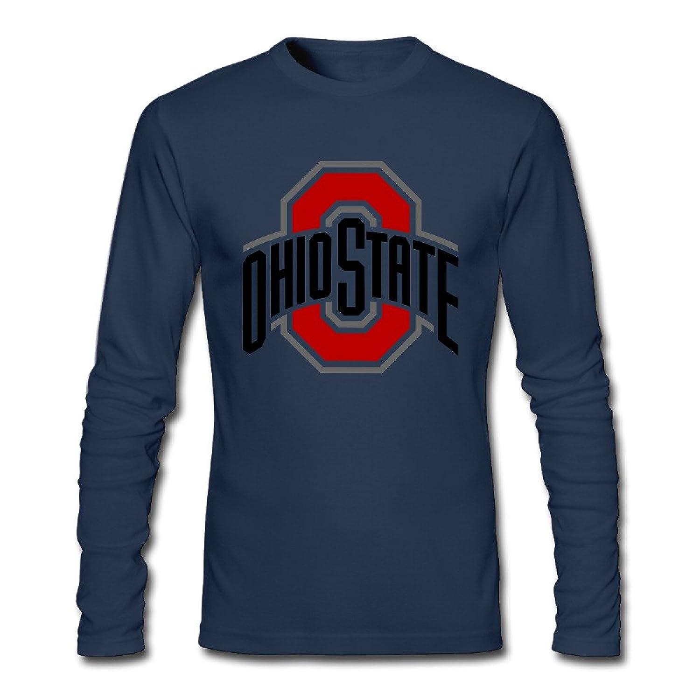 Boy Hot Topic Screw Neck Ohio State Buckeyes Logo Long Sleeve T-Shirt