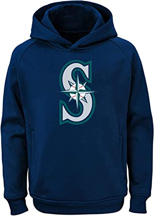 Majestic MLB Youth Chicago White Sox Performance Fleece Primary Logo Hoodie