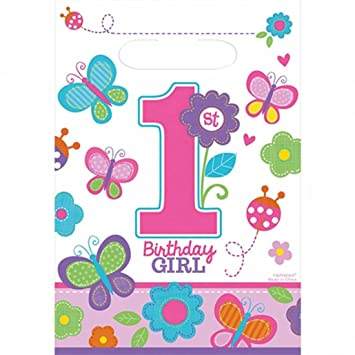 Bolsitas para dar regalos de cumpleaños infantil 8 bolsas de ...