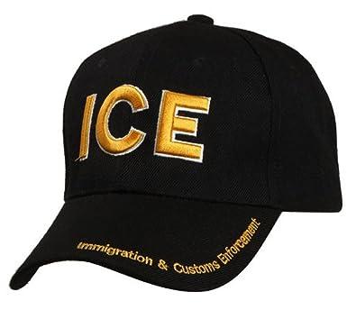 Amazon.com  ICE Baseball Cap Immigration   Customs Enforcement Hat ... c7d660bc0662