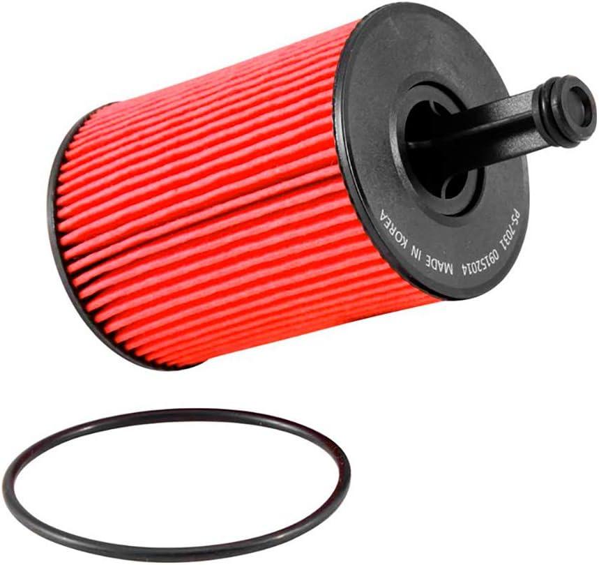K&N プレミアムオイルフィルター:エンジンを保護するために設計されています:一部の2006-2020 ポルシェ/BMW (911、カイエン、マカン、パナメーラ、カレラ、GT3、ターボ、M5、M6)、PS-7032に適合。