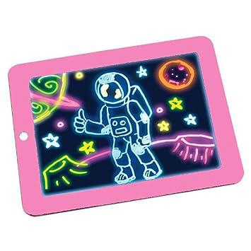 Enjoyfeel 3D Magic Dibujo Pad, Escritura mágica Bloc de ...