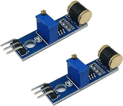 801S Vibration Sensor Module vibration Analog Output Sensitivity LM393