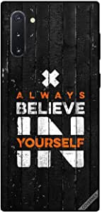 Case For Samsung Galaxy Note 10 - Always Beleive In Yourself