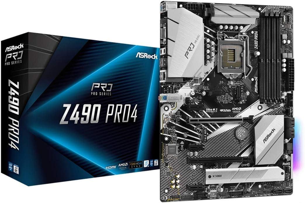 Asrock Z490 Pro4 Motherboard Computer Zubehör