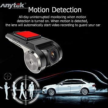 Anytek X28 FHD 1080P Car DVR Camera GPS Dash Cam Vehicle Video Recorder G-Sensor