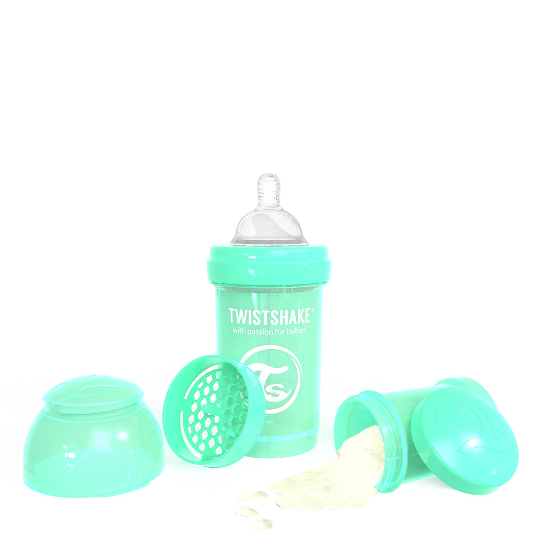 Twistshake 78251 - Biberón, color pastel verde: Amazon.es: Bebé