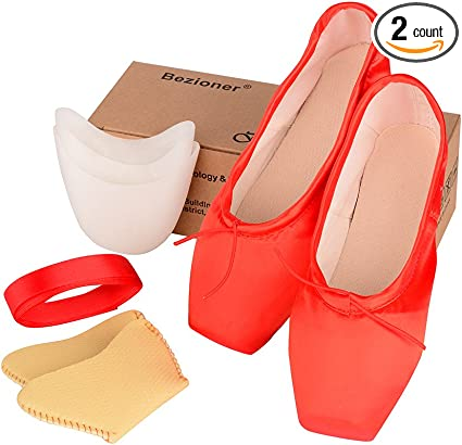 All sizes. Brand new Red Pointe Shoes