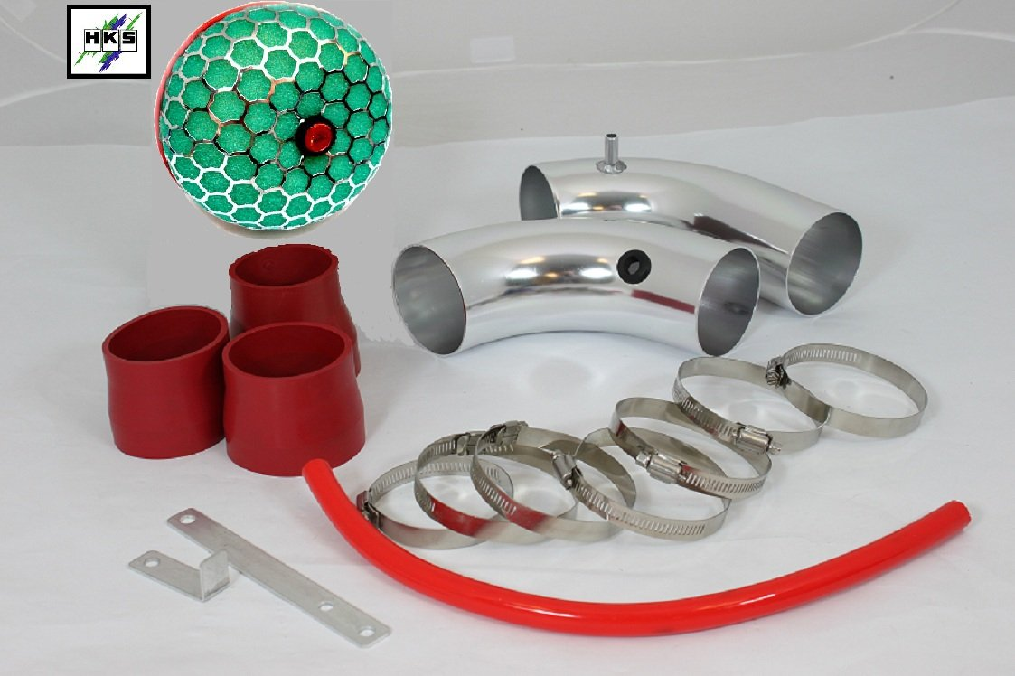 02 03 04 05 Mazda Protege 5/mp3/mp5 Short Ram Intake Red (Included 200mm HKS Super Power Flow Air Intake Filter Element Dry 3 Layers) #Sr-mz005r 3 (The Intake Pipe is NOT made by HKS)