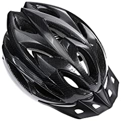 Zacro lightweight bicycle helmet can give you an enjoyable and safe journey during riding. The tough and durable PVC & PC, EPS foam material that decreases the impact forces of the collision would stop worrying about the hurt. Riding with...