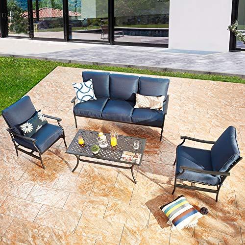 Complete patio conversation set