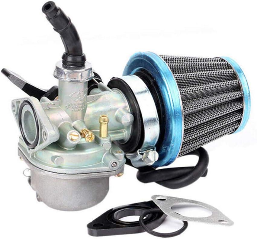 JoyFan Motorcycle ATV 4-Stroke Engine Carburetor /& Air Filter For Motorcycle ATV Pit Bikes 50cc 70cc 90cc 110cc 125cc Engine