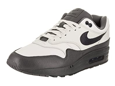Nike Air Max 1 Premium Men's Running Shoes SailDark Obsidian Dark Grey 875844 100