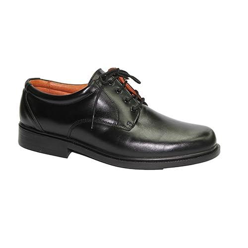 Zapato cordones para camarero muy cómodo Clayan en negro: Amazon.es: Zapatos y complementos
