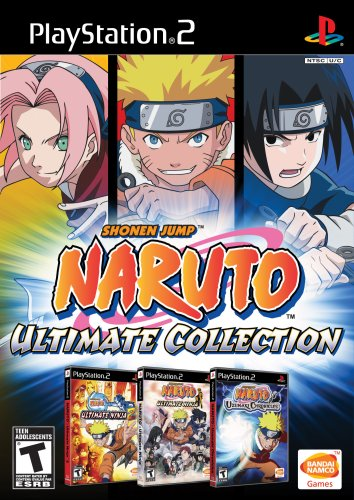 Naruto Ultimate Collection - PlayStation - Naruto Game Collection