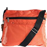 Suvelle Classic Nylon Travel Multi Pocket Crossbody Bag Lightweight Handbag 1905