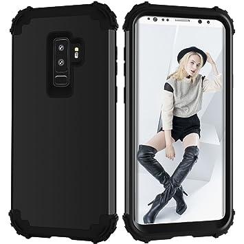 Artfeel Antichoc Coque pour Samsung Galaxy S9 Plus, Détachable 3 en 1  Hybride PC Dur c3bf00ecd00c