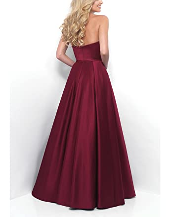 OYISHA Womens Sweetheart Long Prom Dresses Floor Length Formal Evening Gown 60PM Purple 24W at Amazon Womens Clothing store: