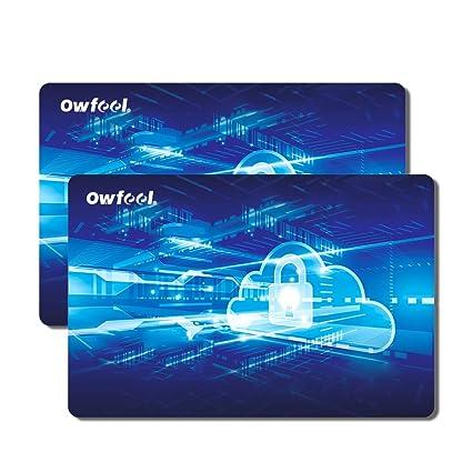 Owfeel RFID NFC Tarjeta de Bloqueo de Crédito Contactless ...