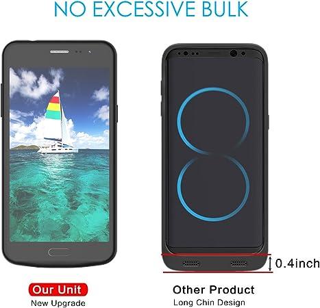 Samsung Galaxy J3 (2016) J310 batería Case Ultra Fino Funda Covers ...