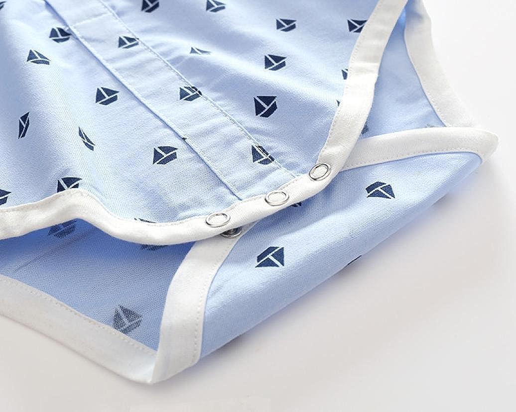 Babykleidung,Sannysis 3Pcs S/äugling Baby Jungen Drucken Tops Romper Pants Outfits Kleider Set 6-24Monat Vest