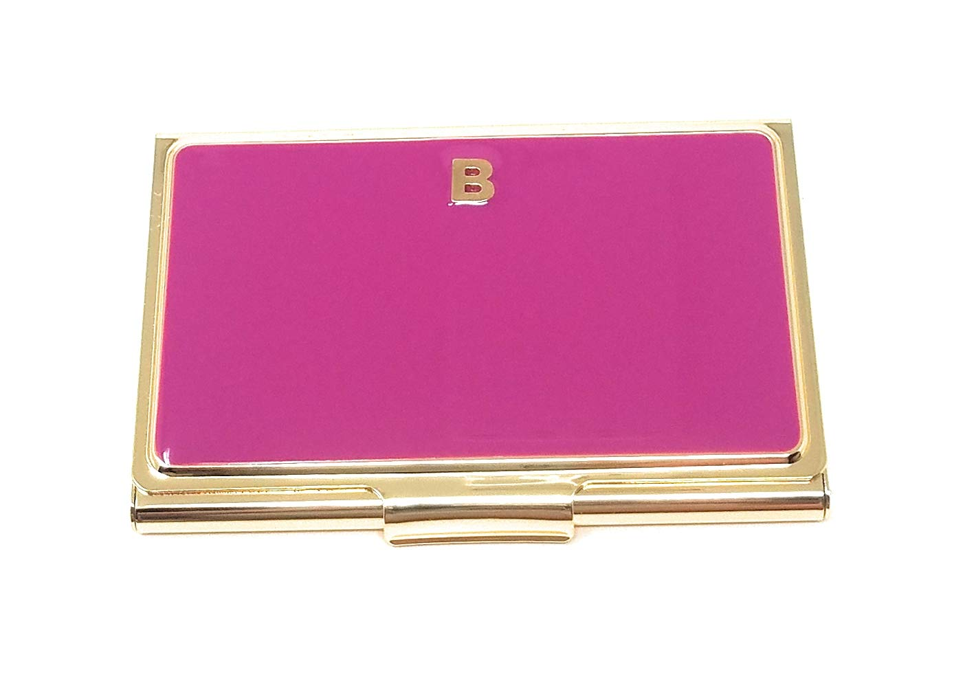Kate Spade One In A Million Business Card Holder Initial''B'', Fuchsia/Gold