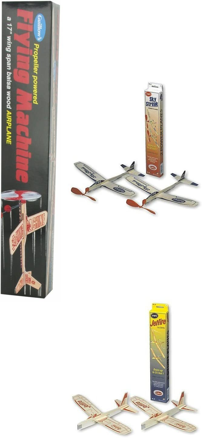 Guillow Balsa Wood Airplane Set