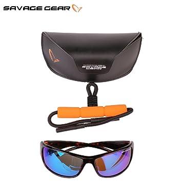 Savage Gear - Lunettes Savage Eyes Polarisantes Modèle: Amber TgTFJ