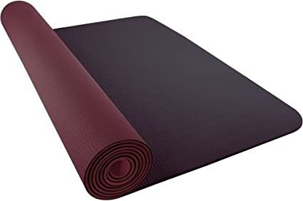 Circo Accor regla  Nike Unisex_Adult JDI Yoga Mat 3mm 2.0 204 smoky mauve/burgundy Training,  One Size: Amazon.co.uk: Sports & Outdoors