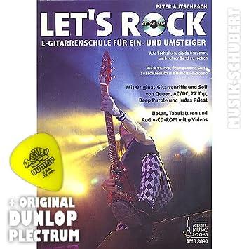 Lets Rock (CD +) púa - E-método de guitarra para el Umsteiger