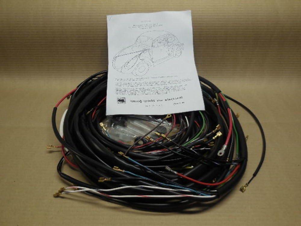 1970 vw beetle wiring harness amazon com 1970 1971 all karmann ghia vw complete wiring works  amazon com 1970 1971 all karmann ghia
