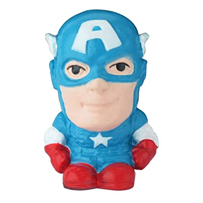 Marvel Captain America Figure Eraser: Toys & Games